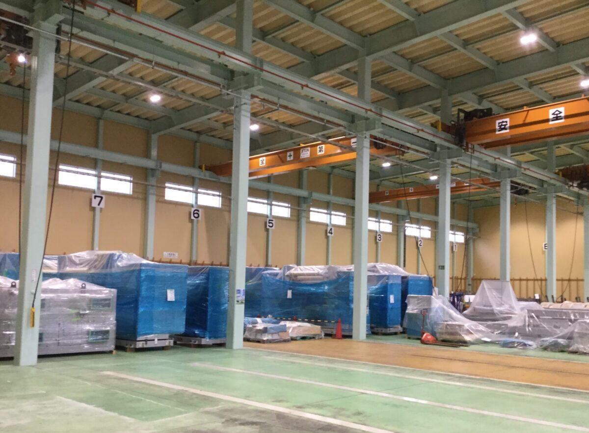 重量物、生産設備保管サービス