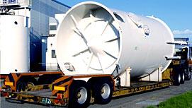大型プラント機材の運搬