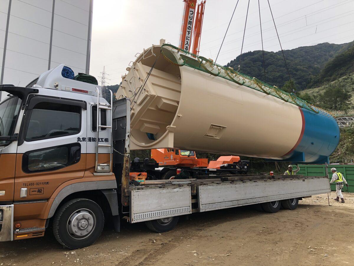 大型プラント機材運送