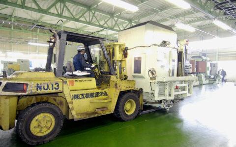 工場移転にともなう、製造ラインの移設