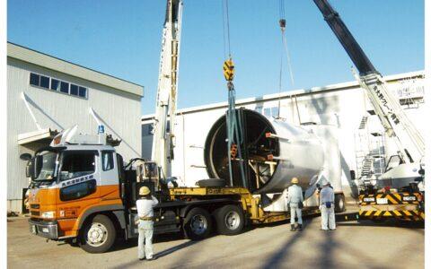 大型プラント機材の運送